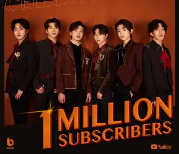 首个内地偶像组合YouTube订阅者人数突破一百万